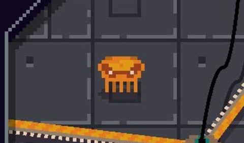 Alien Crab in the Rotormaze